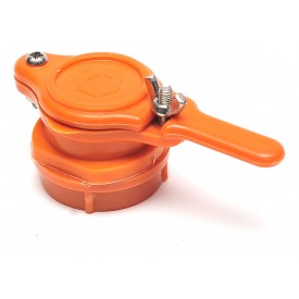 Кран-задвижка пластиковая, диаметр 47