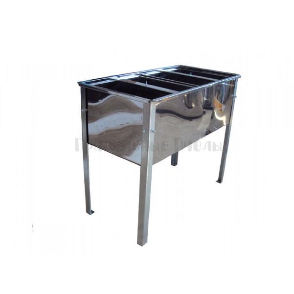 Стол для распечатки сотовых рамок ПРОФИ с 2 корзинами